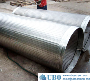 Stainless steel mesh wire screen slotted screen pipe filtration
