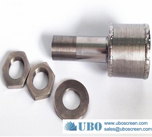 Stainless Steel 304/316 Water Screen Filter Nozzle