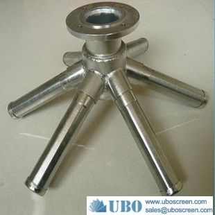 Stainless Steel Hub and Header Laterals for Water Filtration Housings