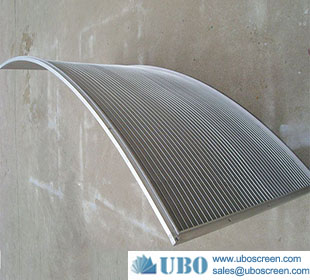 Wedge Vee Wire Arc Sieve Bend Screen Plate for Aquaculture