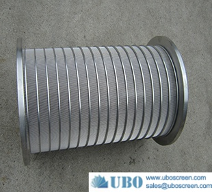 stainless steel wedge wire screw press screen for equipment
