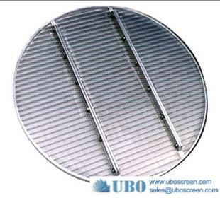 Stainless steel wedge wire round type lauter tun screen panel