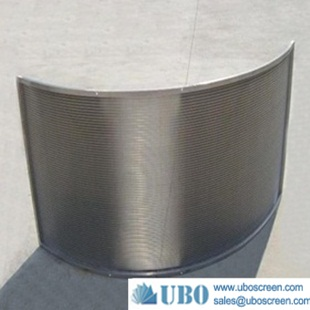 stainless steel curved surface screen filter