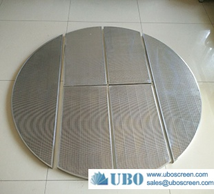 SS round type lauter tun mash tun screen panel