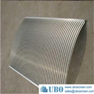SS Slotted Sieve Bend Screen for Food Processing