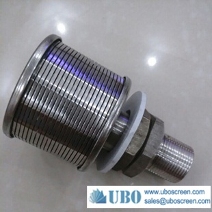 SS wire screen sand filter nozzle