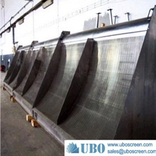 304v flat wire static screen for water treatment