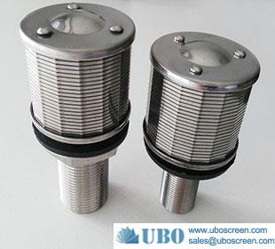 stainless steel water nozzle filter nozzles for water treatment