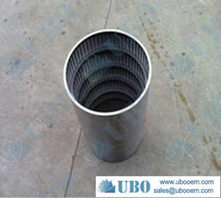 slot wire screen tube