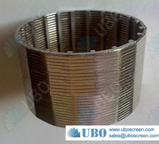 welded wedge wire mesh filter