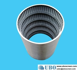 Wedge wire filter segments