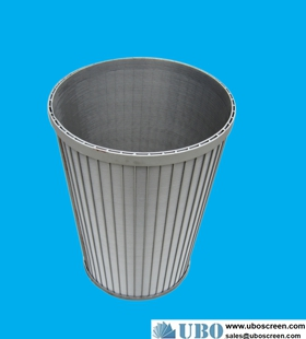 SS316HC fed rotary drum screens manufacturer