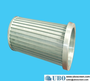 Stainless steel316 Screw Screen for water treatment