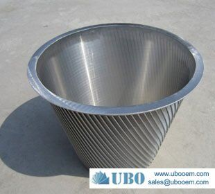 SUS316HC Conical-Filter for wasterwater treatment