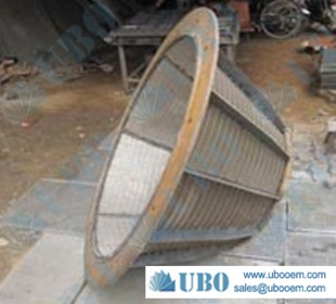SS304 Centrifuge screen basket for water sofener