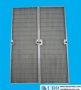 Flat welded Wedge Wire Panels