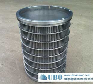 SUS304 Wedge wire cylinder screen for ground water