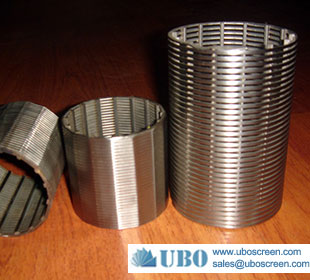 stainless steel filter for industrial and municipal water