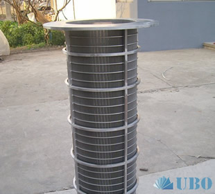 SS312 Tubular Slit Screens for Water Treatment