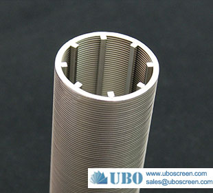 Stainless steel201 cylinders screen slot for municipal water