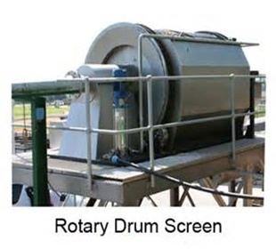 anti-corrosive rotary drum screen