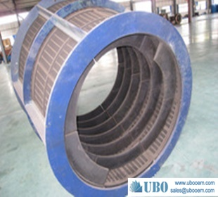 Rotary Wedge Wire Screens