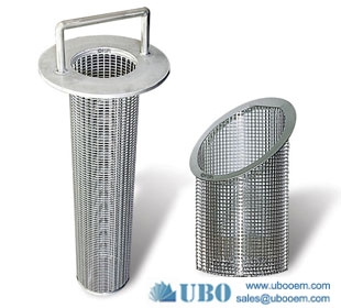 wedge wire filter strainer basket