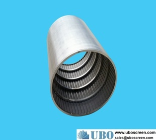 Rotary Wedge Wire Screen Cylinder