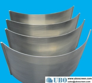 deep arch looped wedge wire