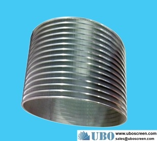 stainless steel reversed sprial screen