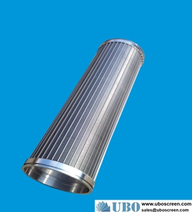 ASTM316 sand control screen tube for sea water desalination