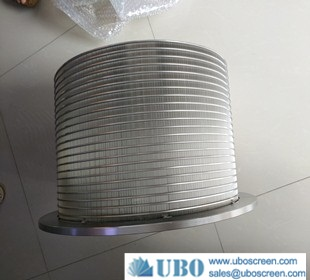 wedge wire filter strainer baskets