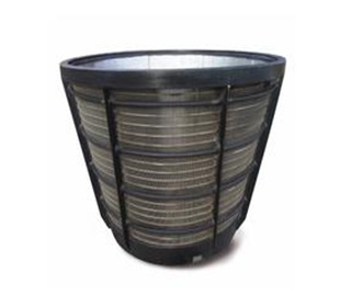 sell wedge wire filter strainer baskets