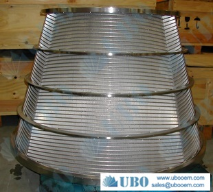Stainless Steel Filter Strainer Baskets for Pulp Screening