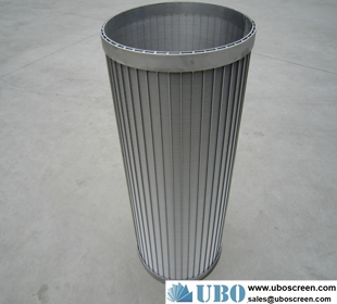 SUS316HC filter strainer baskets for dewatering