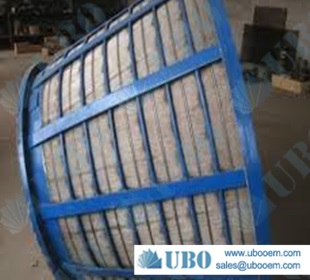 SS316HC centrifuge screen basket for water clarification