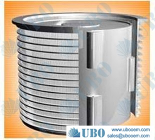 Stainless steel304 wedge wire conical centrifuge basket for fiber retention