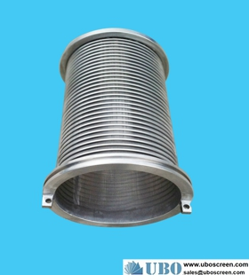 AISI304 rotary drum screen cylinder screen for water clarification