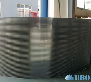 flat panel wedge wire screens for filtration