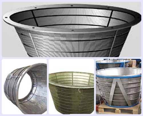 SS304L conical centrifuge screens