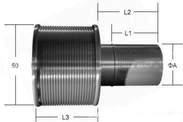 Standard Male Female Nozzle