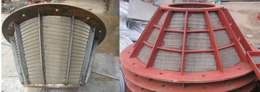 wedge wire screen basket, wedge wire screen basket for mining
