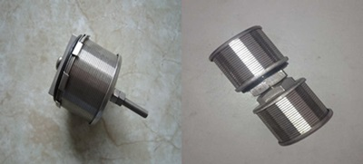 stainless steel wedge wire screen nozzle/filter nozzle