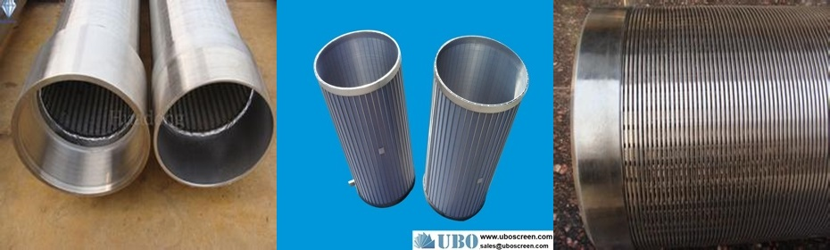 Lake filtering wedge wire  screen