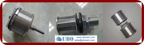 filter nozzles water treatment system
