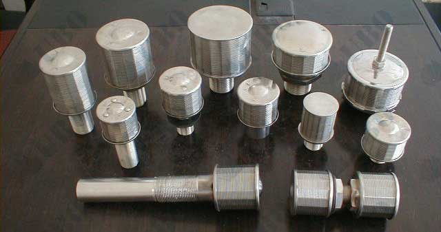 Single tube type water strainer
