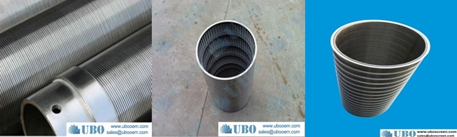 SUS302 Straight Wire Screen for wasterwater treatment