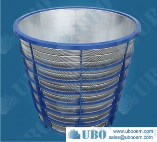 rotary drum screen filter