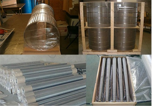 Drum sieve screen for sand