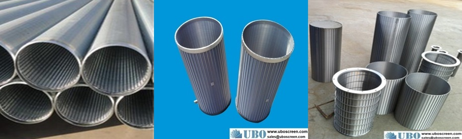 Rotary drum screen cylinders